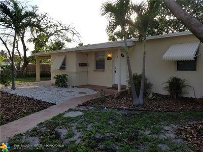 Pompano Beach Single Family Home For Sale: 5161 NE 17th Ave