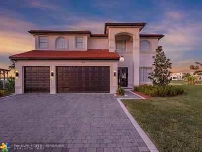 Miramar Single Family Home For Sale: 5402 SW 185 Terrace