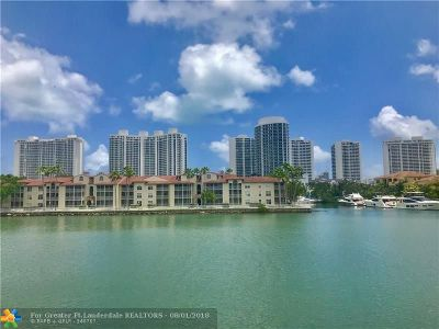 Aventura Condo/Townhouse For Sale: 2980 Point East Dr #D207