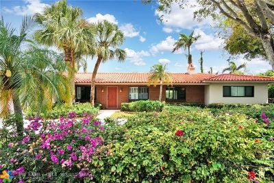 Coral Ridge, Coral Ridge 21-50 B, Coral Ridge Add, Coral Ridge Country Club Single Family Home For Sale: 2821 NE 40th St
