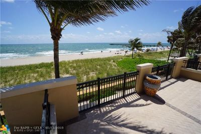 Lauderdale By The Sea Condo/Townhouse For Sale: 4444 El Mar Drive #3-202