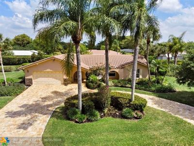 Coral Springs Single Family Home Backup Contract-Call LA: 2401 NW 107th Ave