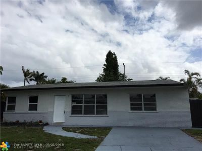 Pompano Beach Single Family Home For Sale: 1612 NE 30th Ct