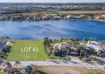 Weston Residential Lots & Land Backup Contract-Call LA: 3099 Lake Ridge Ln