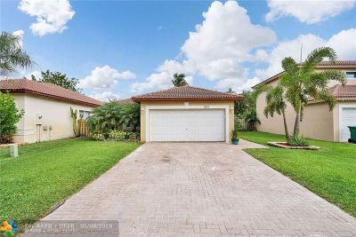 Coral Springs Single Family Home For Sale: 6122 NW 41st Dr