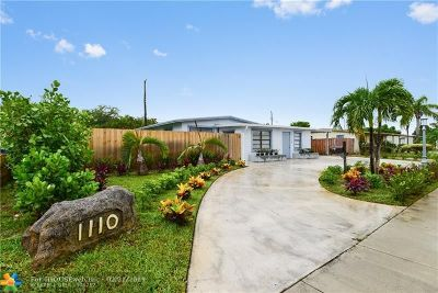 Fort Lauderdale Single Family Home For Sale: 1110 W Prospect Rd