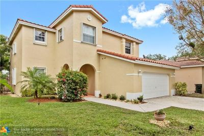 Coconut Creek Single Family Home For Sale: 4410 NW 45th Ter