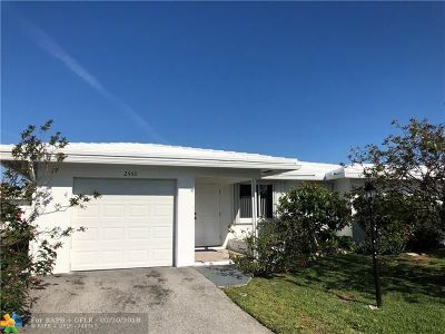 Pompano Beach Single Family Home For Sale: 2550 NW 2nd Dr