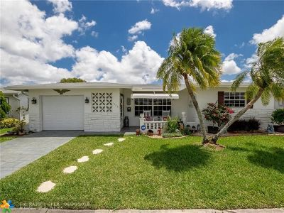 Margate Single Family Home For Sale: 1420 NW 67th Ter