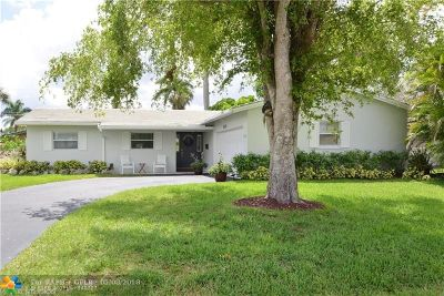 Coral Springs Single Family Home Backup Contract-Call LA: 3830 NW 78th Ln