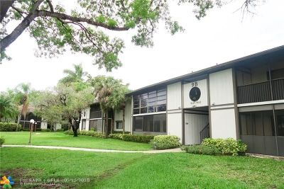 Tamarac Condo/Townhouse For Sale: 9463 W McNab Rd #216