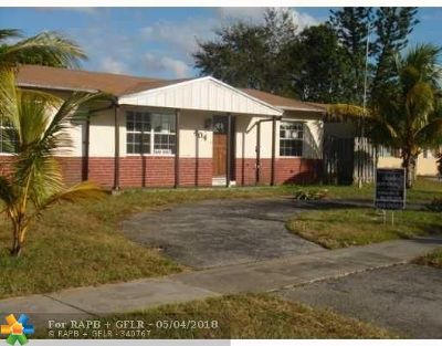 North Lauderdale Single Family Home For Sale: 404 SW 77th Ter