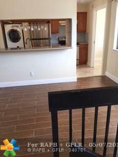 Plantation Condo/Townhouse Backup Contract-Call LA: 8103 NW 17th Mnr #8103