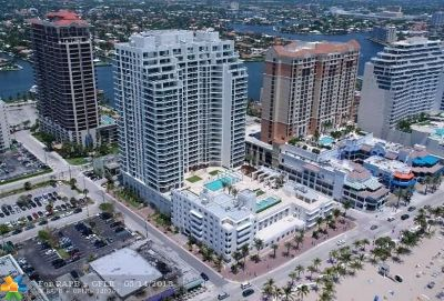 Fort Lauderdale Condo/Townhouse For Sale: 101 S Fort Lauderdale Beach Blvd #607