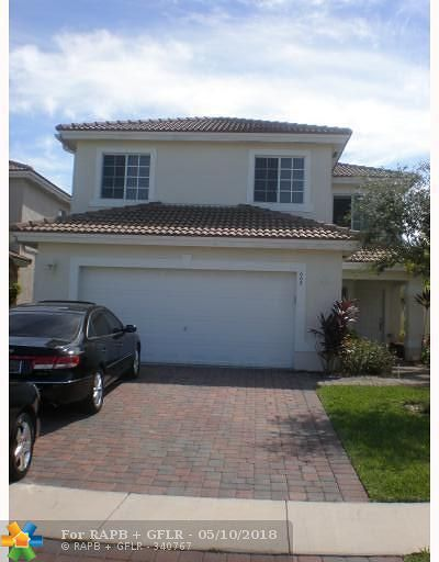 West Palm Beach Single Family Home Backup Contract-Call LA: 668 Perdido Heights Dr