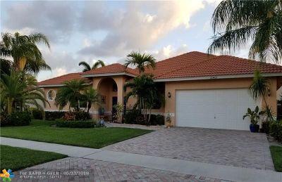 Boynton Beach Single Family Home For Sale: 12463 Dogleg Dr