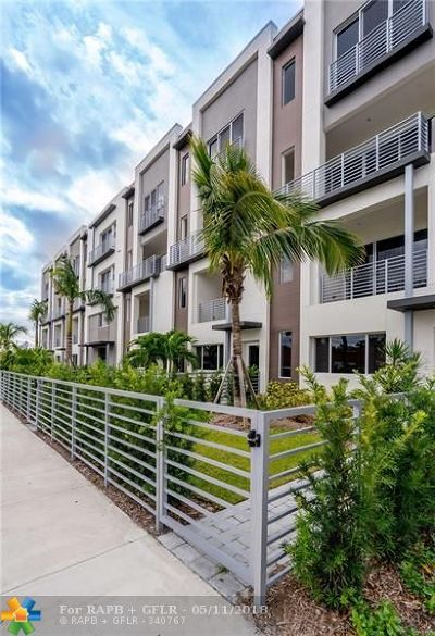 Fort Lauderdale Condo/Townhouse For Sale: 1045 NE 18th Ave #302