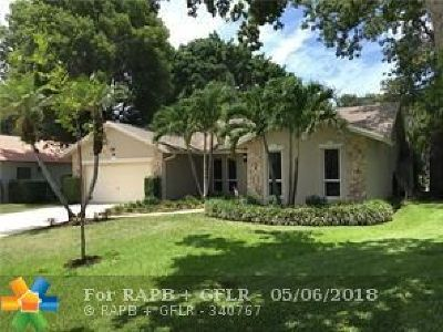 Coral Springs Single Family Home Backup Contract-Call LA: 7005 NW 43rd St
