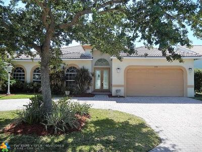 Coral Springs Single Family Home For Sale: 5354 NW 57th Way