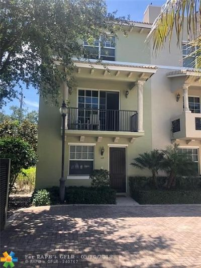 Lake Worth Condo/Townhouse For Sale: 219 N L St #105