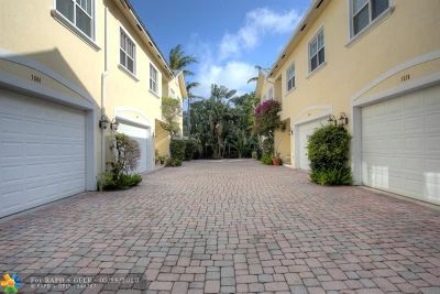 Fort Lauderdale Condo/Townhouse For Sale: 1520 SW 23 #2