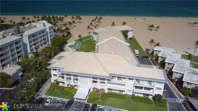Fort Lauderdale Condo/Townhouse For Sale: 1750 S Ocean Ln #304