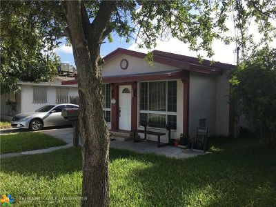 Hallandale Single Family Home For Sale: 132 SW 2nd Ave