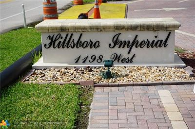 Hillsboro Beach Condo/Townhouse For Sale: 1198 NE Hillsboro Mile #214