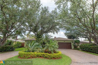 Fort Lauderdale Single Family Home For Sale: 6511 NE 20th Ter