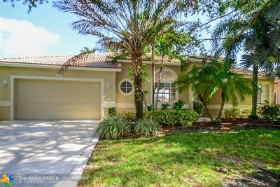 Coconut Creek Single Family Home For Sale: 5027 Mallards Ct