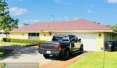 Fort Lauderdale Single Family Home For Sale: 4820 NE 26th Ave