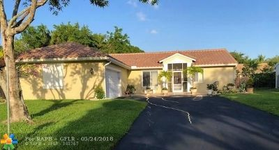 Coconut Creek Single Family Home For Sale: 5541 NW 40th Ter