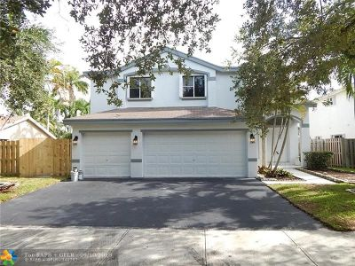 Coconut Creek Single Family Home For Sale: 4752 NW 15th St