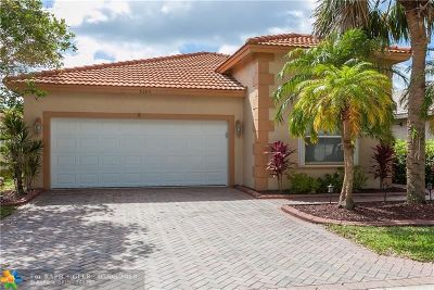 Coral Springs Single Family Home For Sale: 5155 NW 121st Dr