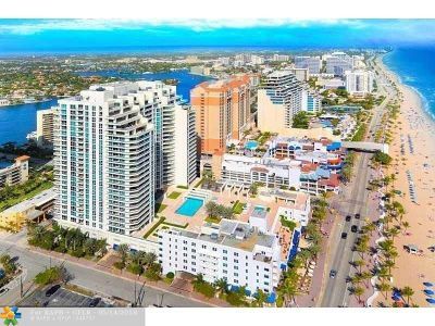 Fort Lauderdale Condo/Townhouse For Sale: 101 S Fort Lauderdale Beach Blvd #2002