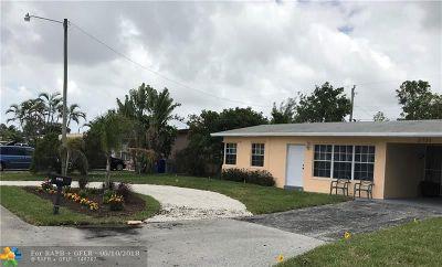 Pompano Beach Single Family Home For Sale: 2731 NE 11th Ter