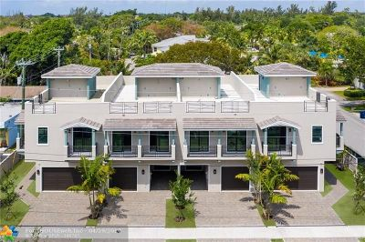 Wilton Manors Condo/Townhouse For Sale: 2113 NE 5th Avenue #2113