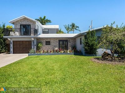 Wilton Manors Single Family Home For Sale: 2848 NE 17th Ter