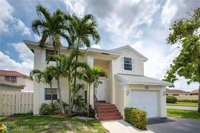 Sunrise Single Family Home Backup Contract-Call LA: 3722 NW 107th Way