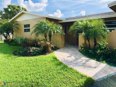 Broward County Single Family Home For Sale: 1900 NW 41st St