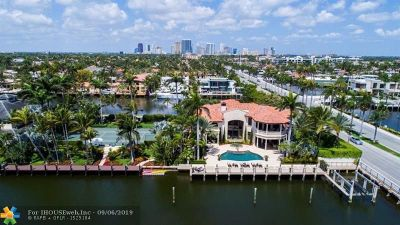 Fort Lauderdale Single Family Home For Sale: 300 Isle Of Palms Dr