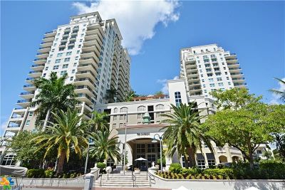 Fort Lauderdale Condo/Townhouse For Sale: 610 W Las Olas Blvd #915N