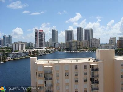 Hallandale Condo/Townhouse For Sale: 437 Golden Isles Dr #11G
