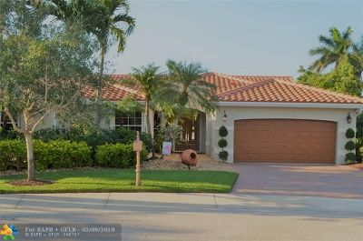 Weston Single Family Home Backup Contract-Call LA: 366 Fairmont Way