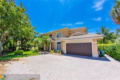 Coral Springs Single Family Home For Sale: 3673 High Pine Dr