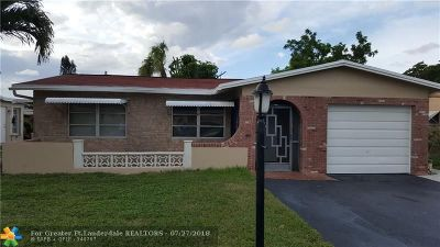 Pompano Beach Single Family Home For Sale: 1221 NW 45th St