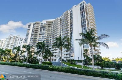 Fort Lauderdale Condo/Townhouse For Sale: 2841 N Ocean Blvd #1001