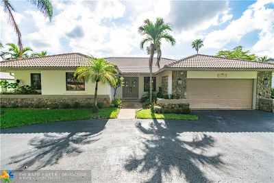 Coral Springs Single Family Home For Sale: 5125 NW 85th Rd