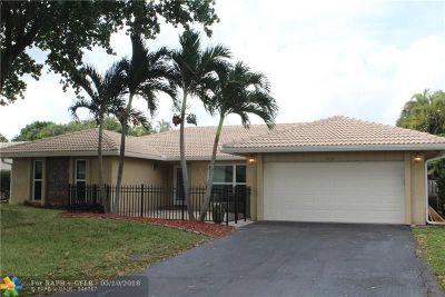 Coral Springs Single Family Home Backup Contract-Call LA: 1034 NW 82nd Av