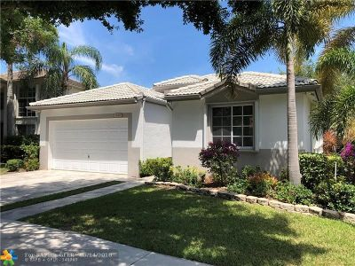Coconut Creek Single Family Home For Sale: 5109 Mallards Pl